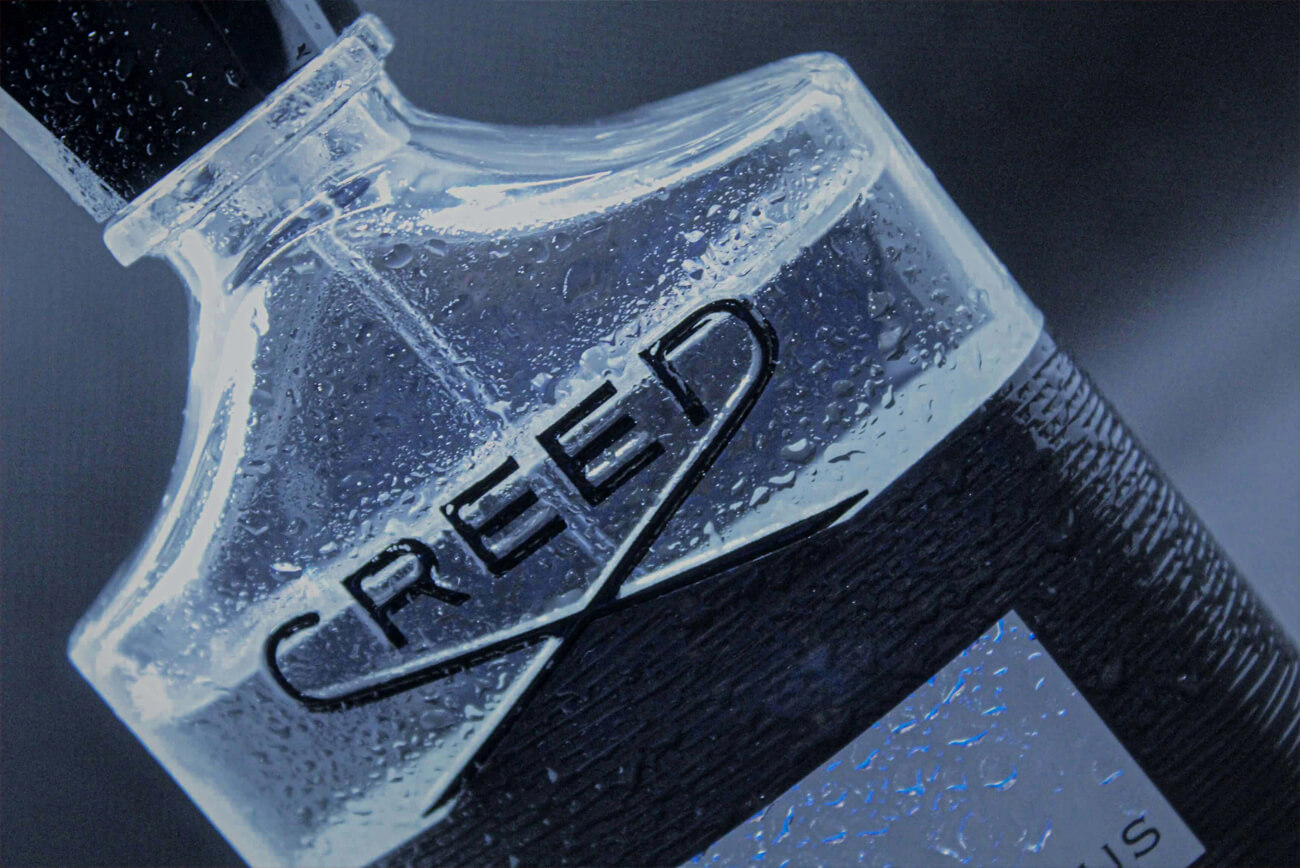 Alpha Marketing - Product Photography, Creed Fragrance