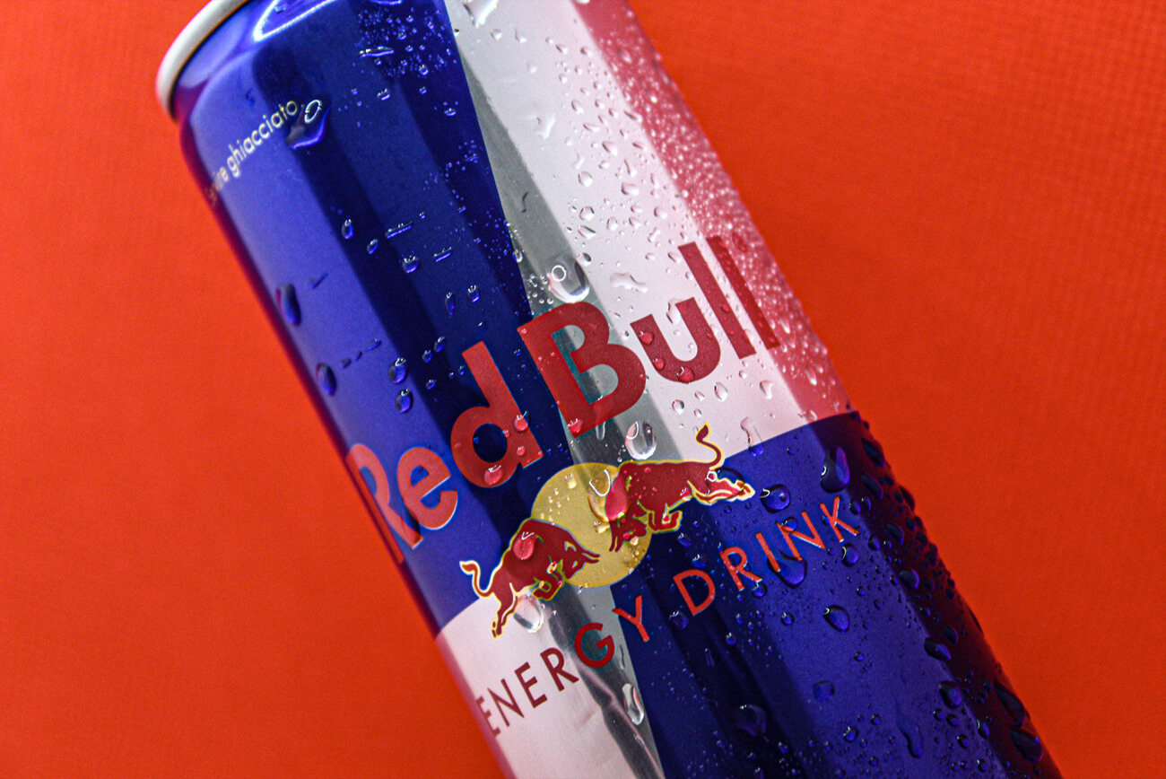 Alpha Marketing - Product Photography, Red Bull