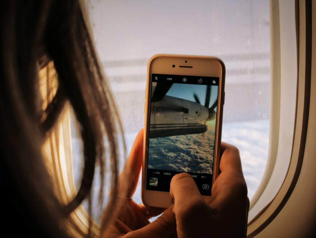 Foto con cellulare
